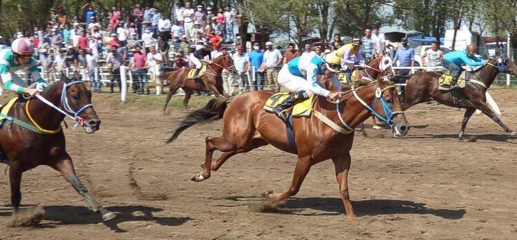 Turf: Caballos de Tornquist participaron en la primera reunión del año realizada en Doblas (La Pampa)