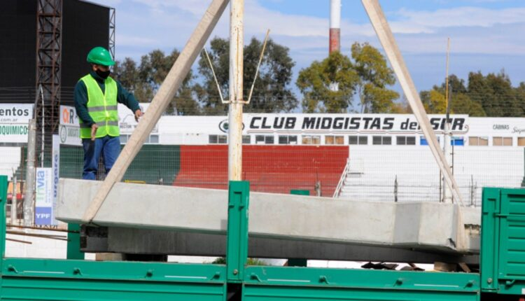 """El Club Midgistas del Sur inicia una importante obra en el estadio """"Héctor Evaristo Plano"""""""