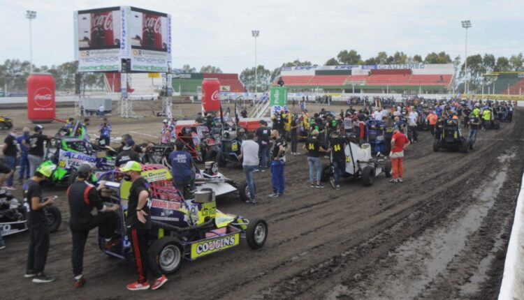 Midget: La reanudación del certamen tuvo a tres pilotos del distrito en pista
