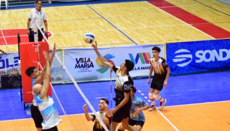 Vóley: Liniers, con Juan Piedrabuena, tuvo su segunda presentación en la Liga Nacional masculina