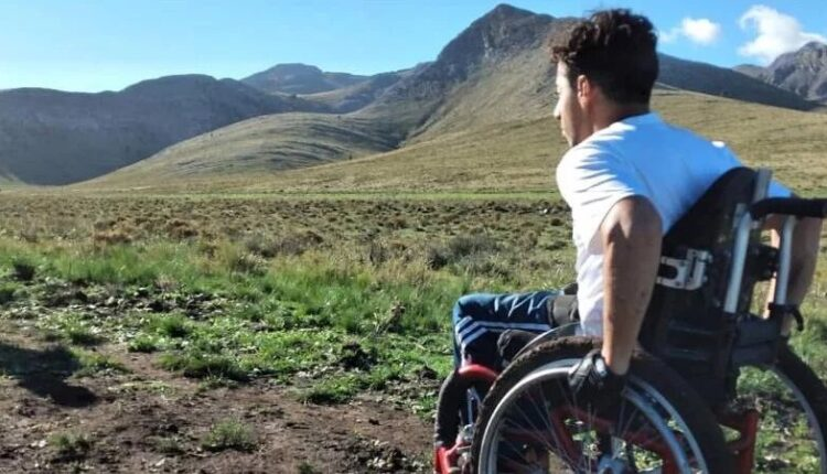 """Nicolás Pisandelli: """"Quiero ser la primera persona en silla de ruedas que ascienda al cerro Tres Picos"""""""