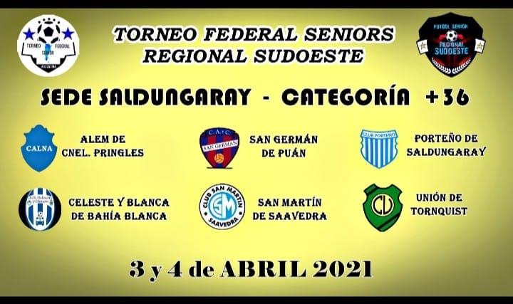 Quedó determinado el fixture de las eliminatorias del Regional Sudoeste Senior