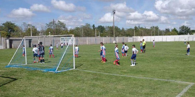 Atlético Ventana debutó esta tarde en el torneo de fútbol menor de Coronel Pringles