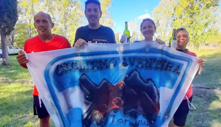 """Rural Bike: Cuatro representantes de Tornquist participaron de la """"Vuelta Juventud Unida"""""""