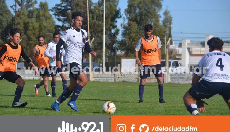Este sábado, Automoto y Club Sarmiento se midieron en un amistoso en Pigüé