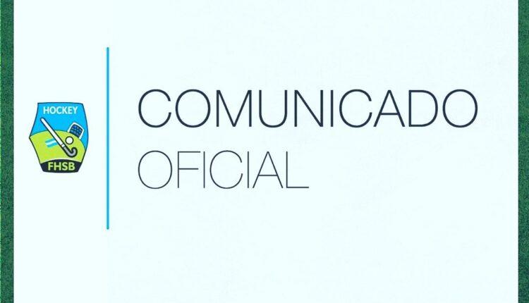 Comunicado oficial de la Federación de Hockey del Sudoeste Bonaerense