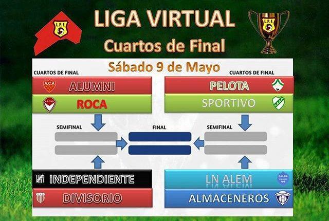 Porteño y Atlético Ventana participaron de la Liga Pringles Virtual