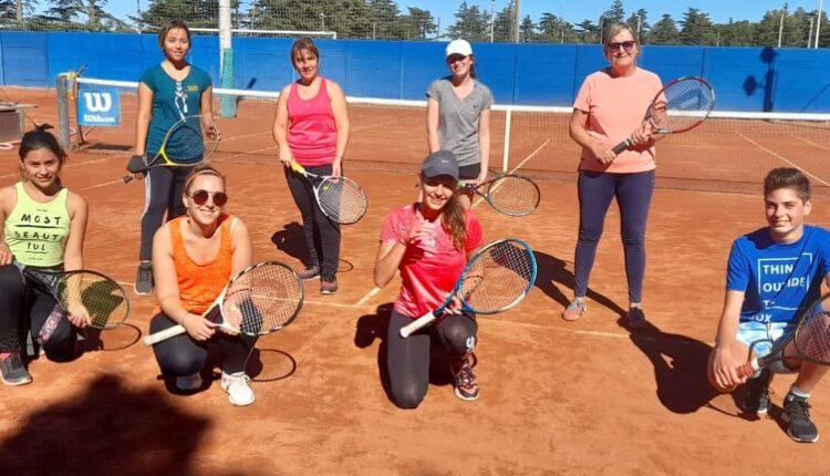 Tenis en Automoto: Una actividad que suma cada vez más adeptos de la mano de Brígida Álvarez