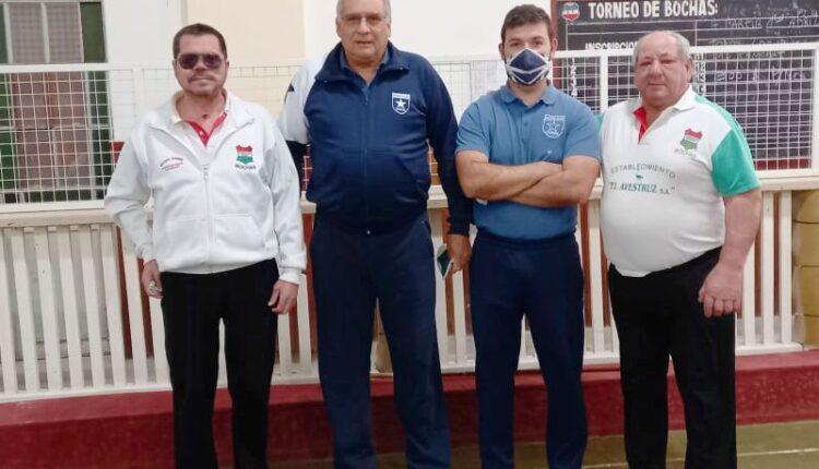 Bochas por parejas: Gustavo Medina y Carlos Chavarría, subcampeones del torneo de tercera división
