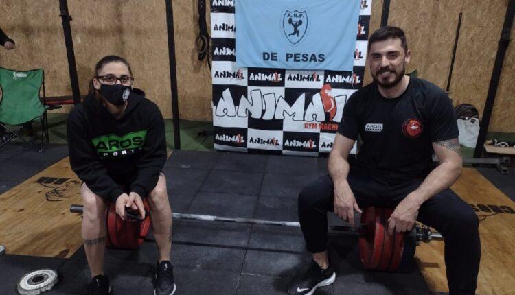 Pesas: Los serranos Jesica Prette y Nicolás Vázquez clasificados al Campeonato Argentino 2021