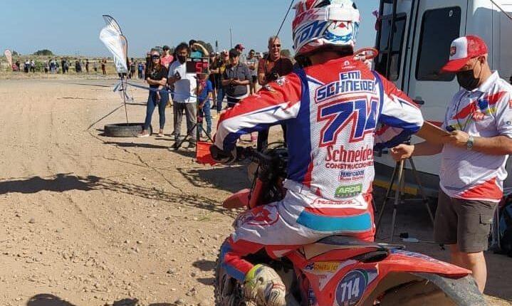 El serrano Emiliano Schneider participó del Enduro Ape y Sprint Enduro