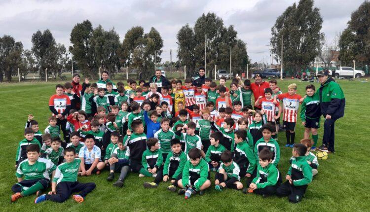 Semillero Verde viajó a Pigüé para jugar amistosamente ante Unión (Incluye fotos)