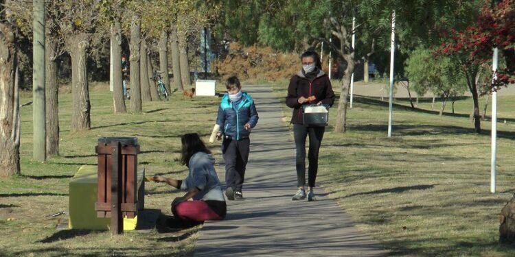 Integrantes del Club A. Ventana forman parte del proyecto Custom en Sierra de la Ventana