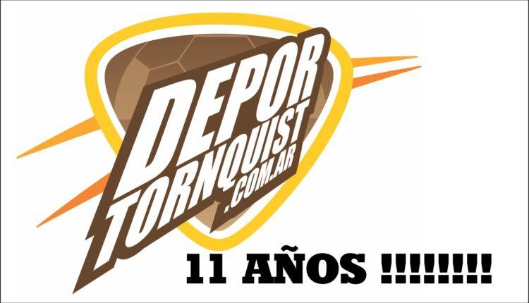 1 de julio: DeporTornquist.com.ar cumple hoy 11 años de vida !!!!