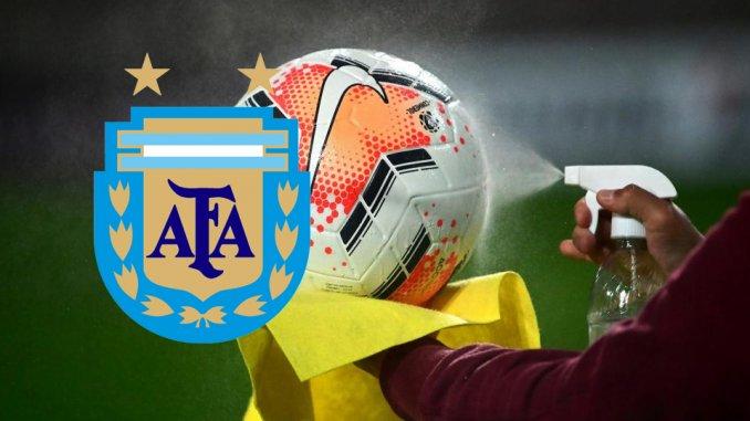 La AFA suspendió todas las competencias del fútbol local hasta el domingo 30 de mayo