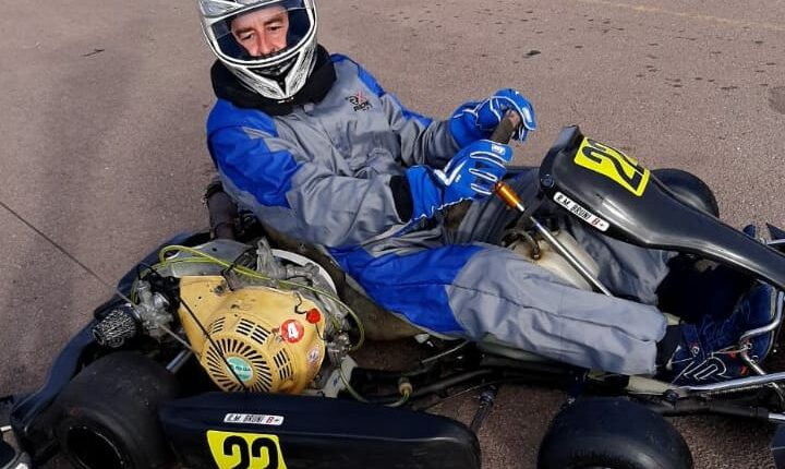 Karting en Pigüé: Exitoso debut de Rolando Mariano Bruni en la categoría 390 4T