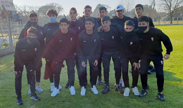 Juveniles de AFA: Mateo Toy le dio el empate a la novena división de Huracán