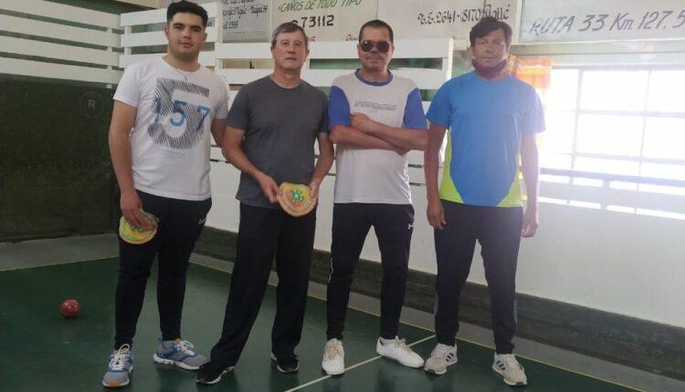 Bochas: Jugadores de Tornquist participaron de un torneo en la ciudad de Pigüé