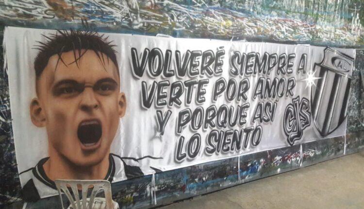 Un gran trabajo del tornquistense Manuel Abarzua que emocionó a Lautaro Martínez
