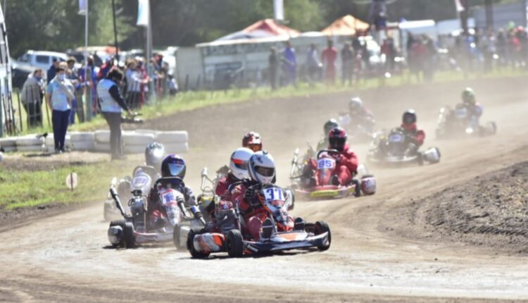 """Karting: Una de cal y una de arena para """"Benja"""" Moldú en la segunda fecha de la Asociación Bahiense"""