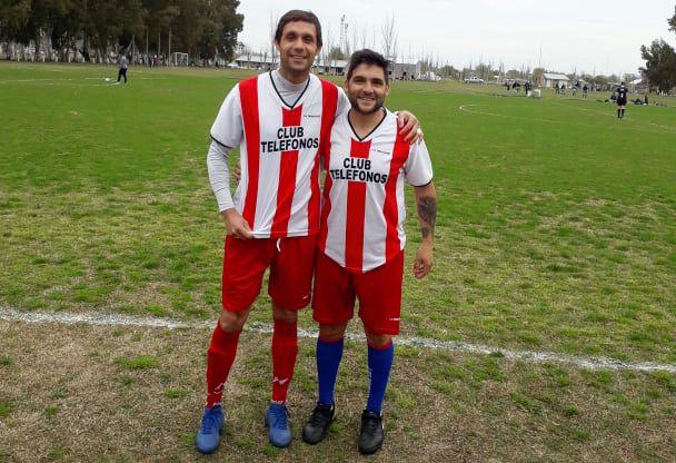 Mauro Wilson y Lucas Del Valle compartirán equipo en la Liga Comercial de Bahía Blanca