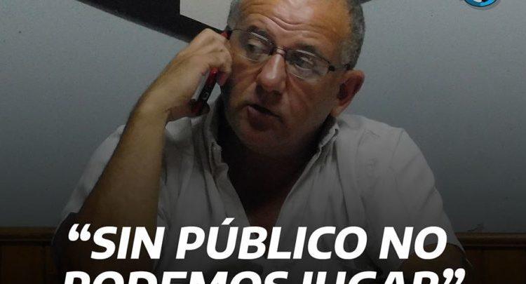 """Liga Dorreguense: """"Sin público no podemos jugar"""" sostuvo Marcelo Belloni a Bola 8"""