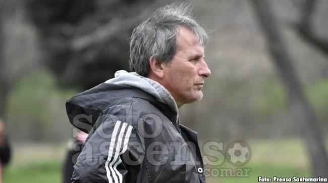 Santamarina anunció al reemplazante de Pablo Ricchetti